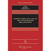 Commentaries and Cases on the Law of: Allen, William T.;