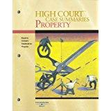 High Court Case Summaries on Property, Keyed: Editoral Staff, Publishers
