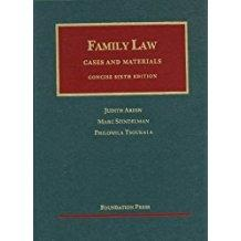 Family Law (University Casebook Series): Areen, Judith; Spindelman,