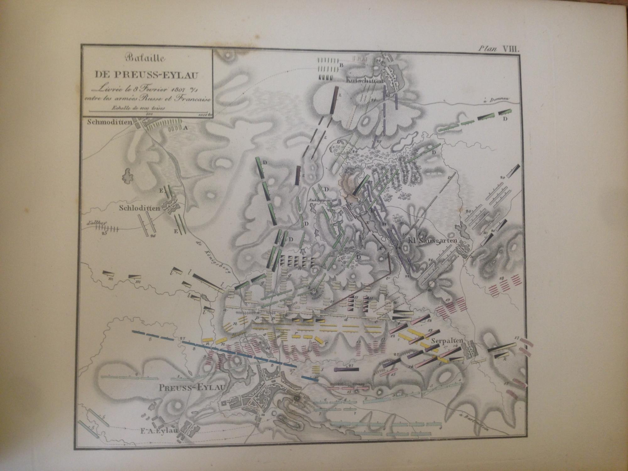 Atlas Portatif Pour L'Intelligence Des Relations Des Dernieres Guerres, Publiees Sans Plans; Notamment Pour La Vie De Napoleon, Par Le General Baron De Jomini