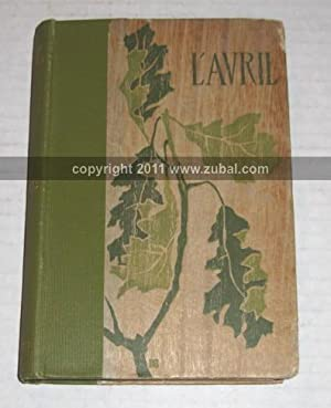 l'Avril. A Novel. Translated from the French: Marguerite, Paul.