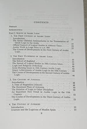 The Development of Arabic Logic: Nicholas Rescher