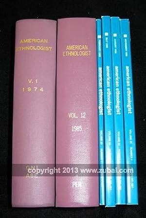 American Ethnologist, Volume 1-29 (1974-2002): American Ethnological Society