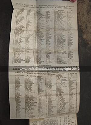 The Court and City Register. For the Year 1755. The Nineteenth Edition. Carefully corrected at the ...