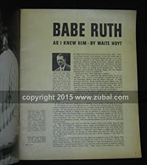 Babe Ruth as I knew him: Hoyt, Waite