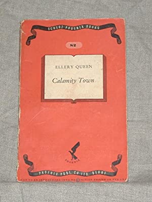 Calamity Town. Scherz Phoenix Books 82: Ellery Queen, pseudonym
