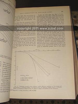 Reviews of Modern Physics. Volume 1 through 21 (1929-1949) lacking volumes 6; 8; 15: Dirac, Wheeler...