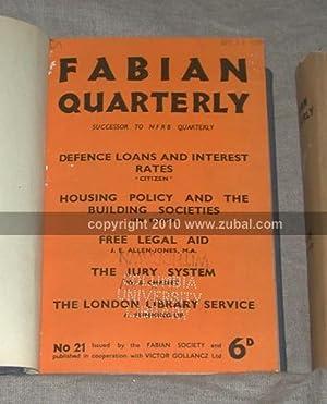 Fabian Quarterly. (Numbers 21-58): Fabian Society.