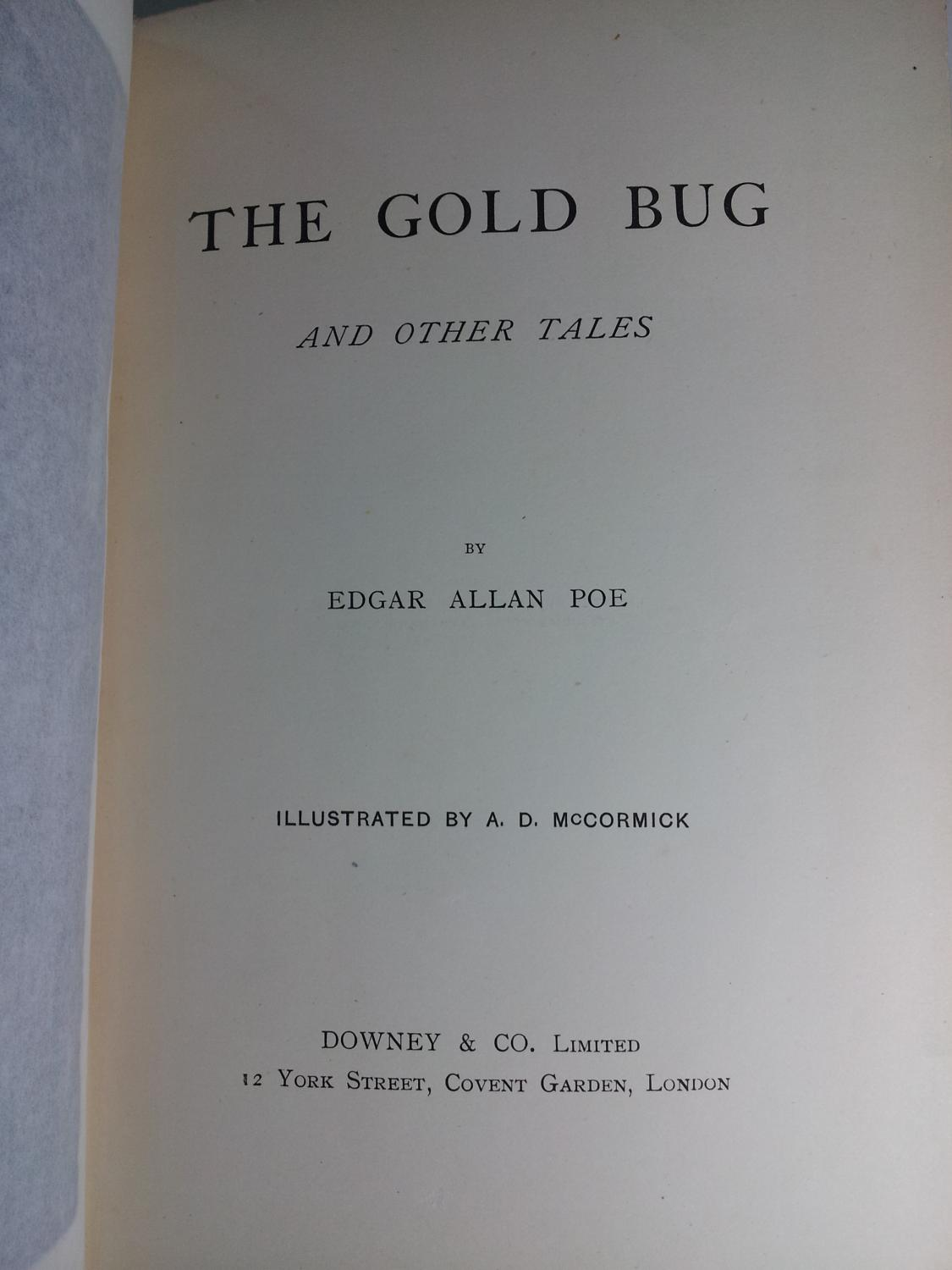 The Gold Bug & Other Tales: POE, Edgar Allan