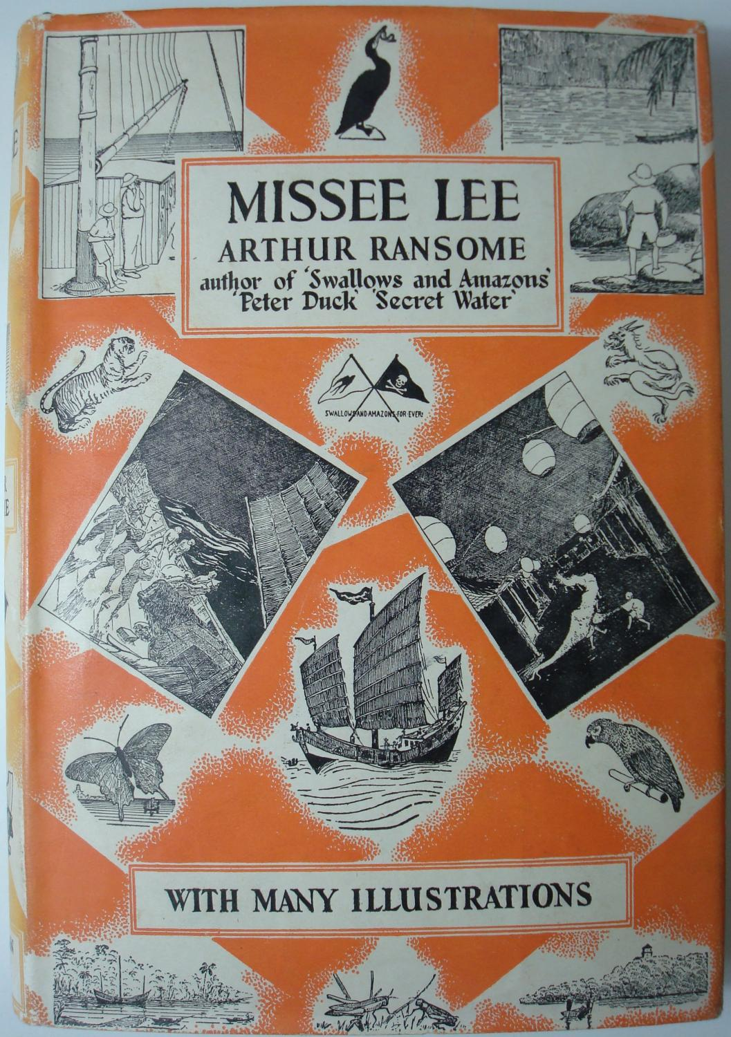 Missee Lee Signed By Author By Ransome Arthur border=