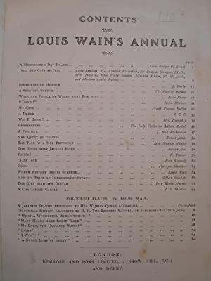 Louis Wain's Annual 1907