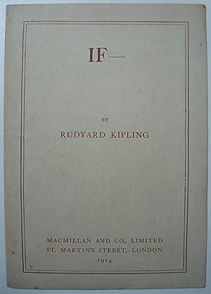 IF -: KIPLING, Rudyard