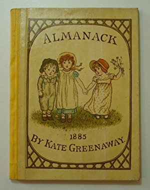 Kate Greenaway Almanack for 1885 + original poatage jacket