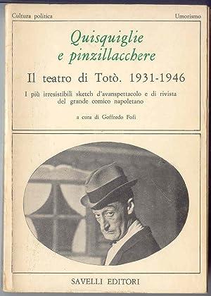 Quisquiglie e Pinzillacchere Il Teatro di TotÃ: Fofi, Goffredo