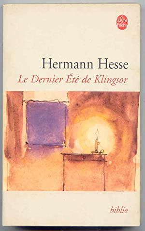 Le Dernier à tà de Klingsor: Hesse, Hermann