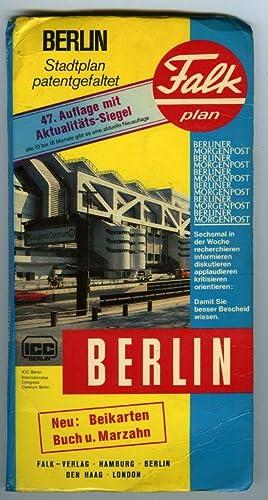 Berlin : Falk Plan Stadtplan Patentgefaltet: Collectif