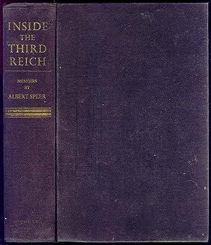 Inside The Third Reich Memoirs By Albert: Speer, Albert