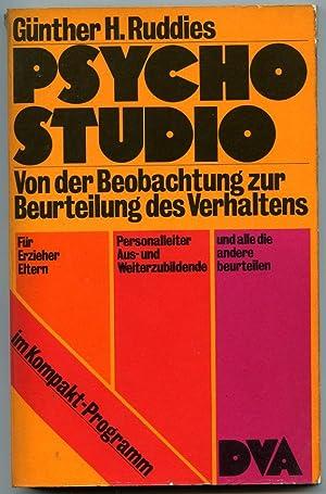 Psycho Studio Von der Beobachtung zur Beurteilung: Ruddies, Günther
