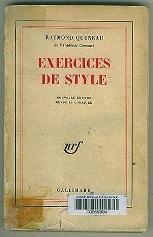 Exercices de style: Queneau, Raymond