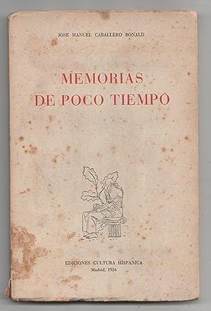 Memorias de poco tiempo: Jose Manuel Caballero