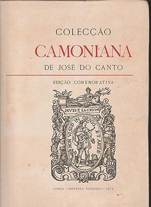 Colecção Camoniana [Camoneana] de José do Canto: José do Canto