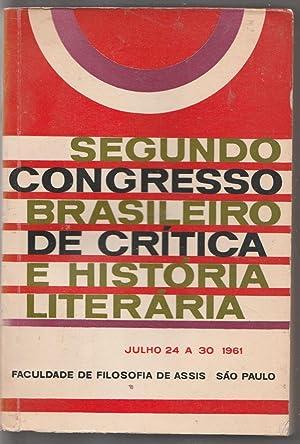 Atas do Segundo Congresso Brasileiro de Crítica: Augusto de Campos;