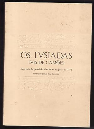 Os Lusíadas - Reprodução Paralela das duas: Luís de Camões