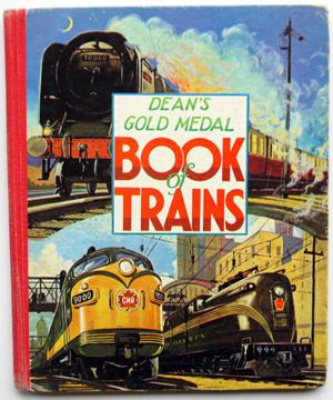 Dean's Gold Medal Book of Trains