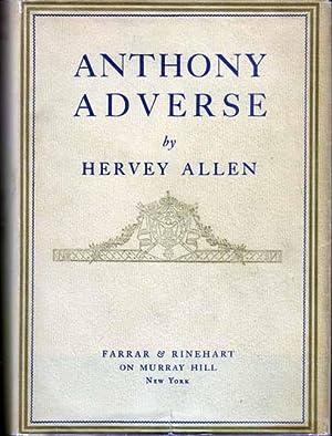 Anthony Adverse.: ALLEN, Hervey