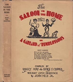 The Saloon in the Home or A: NON-FICTION] HUNT, Ridgely