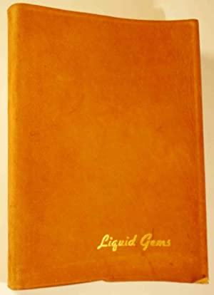 Liquid Gems, A Book of Drinks for: IVERSON, John R