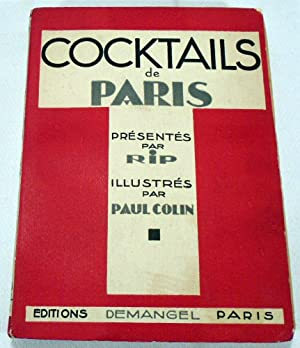 Cocktails de Paris: RIP [Georges-Gabriel THENON]