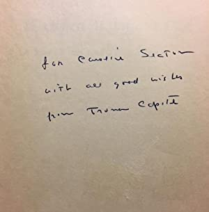 Breakfast at Tiffany's [SIGNED AND INSCRIBED]: CAPOTE, Truman