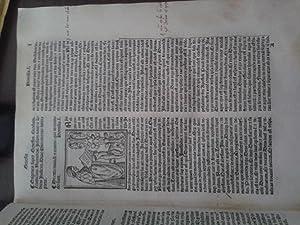 QUE HOC IN LIBRO CONTINENTUR. (1512). Seguito: Origenes