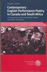 Contemporary English performance poetry in Canada and South Africa. A comparative study of the ma...