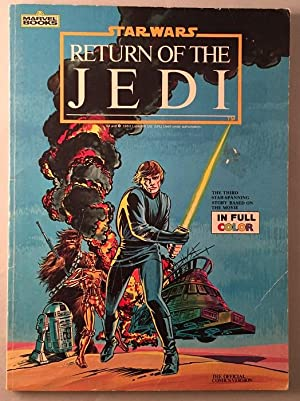 Star Wars: Return of the Jedi (THE OFFICIAL COMICS VERSION - SIGNED BY WARWICK DAVIS)