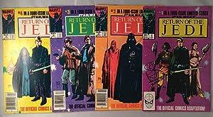 Return of the Jedi FOUR Issue Comic: Comics) DAVIS, Warwick;