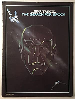 Star Trek III: The Search for Spock (Original Officially Licensed Movie Program)