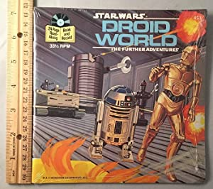 Star Wars: Droid World 24 Page Read-Along (SEALED IN ORIGINAL WRAP)