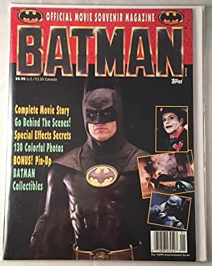BATMAN Official Movie Souvenir Magazine