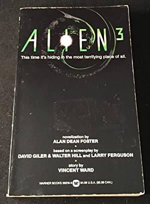Alien 3 (SIGNED FIRST PRINTING)