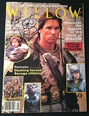 Willow: The Official LucasFilm POSTER Magazine (SIGNED BY WARWICK DAVIS A.K.A.