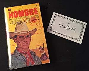 Hombre (PAPERBACK ORIGINAL W/ SIGNED BOOKPLATE); He was half Indian, all man - and tough as they ...