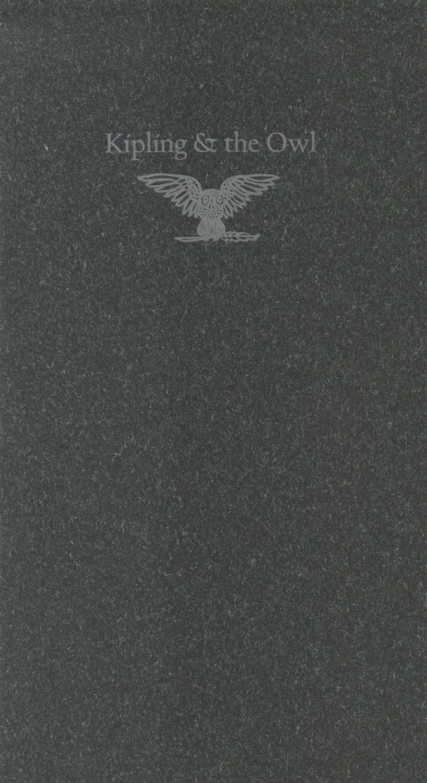 Kipling & the Owl Kipling, Rudyard [Fine] (bi_30357740204) photo