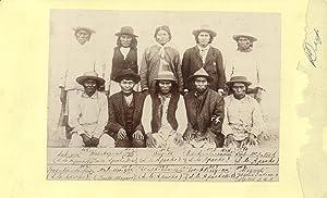 Apache Kid and Prisoners Boudoir Card