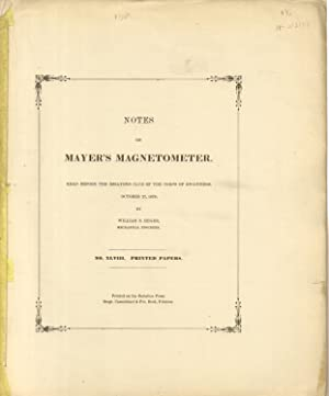 Printed Papers of the Essayons Club of: Heger, William S.