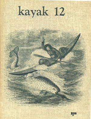Kayak 12: Hitchcock, George (editor)