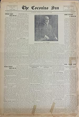 Five Issues of The Coconino Sun 1911: Kolb, Ellsworth; Emery
