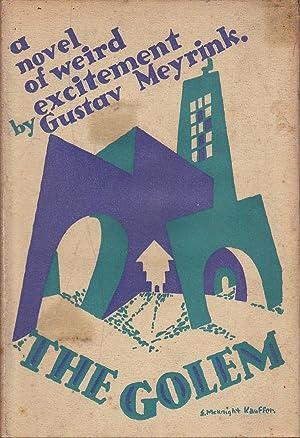 The Golem: Meyrink, Gustav