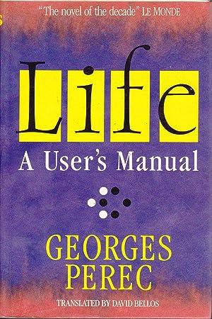 Life A User's Manual: Perec, Georges